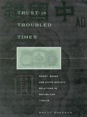 Cover of: Trust in Troubled Times