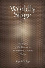Cover of: Worldly Stage