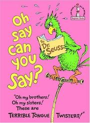 Cover of: Oh, Say Can You Say? (Beginner Books(R))
