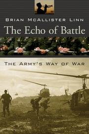 Cover of: The Echo of Battle