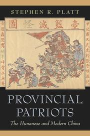 Cover of: Provincial Patriots