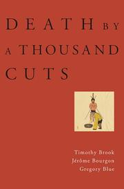 Cover of: Death by a Thousand Cuts | Timothy Brook