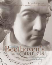 Cover of: Inside Beethoven