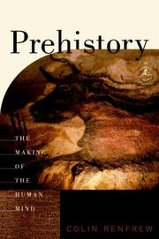 Cover of: Prehistory