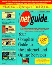 Cover of: Net Guide | Michael Wolff & Company