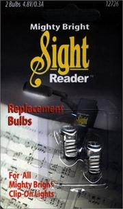 Cover of: Mighty Bright Bulbs