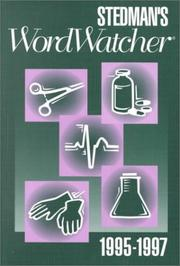 Cover of: Stedman's Word Watcher 1995-1997