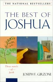 Cover of: The Best of Joshua: Joshua, Joshua in the Holy Land, Joshua and the Children