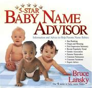 Cover of: Five-Star Baby Name Advisor