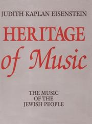 Cover of: Heritage of Music