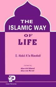 Cover of: Islamic Way of Life