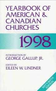 Cover of: Yearbook of American & Canadian Churches 1998 (Serial) | Eileen W. Lindner