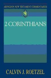 Cover of: 2 Corinthians (Abingdon New Testament Commentaries)