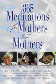 Cover of: 365 Meditations for Mothers by Mothers