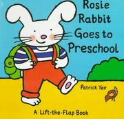 Cover of: Rosie Rabbit Goes to Preschool (Rosie Rabbit)
