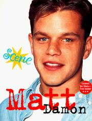 Cover of: Scene 3 Matt Damon (Scene!) | Kieran Scott