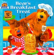Cover of: Bear's Breakfast Treat (Bear In The Big Blue House)