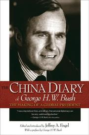 Cover of: The China Diary of George H. W. Bush