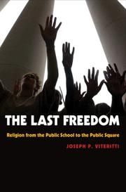 Cover of: The Last Freedom