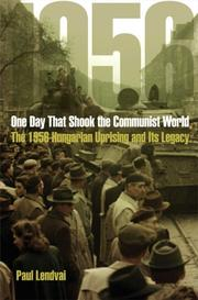 Cover of: One day that shook the communist world