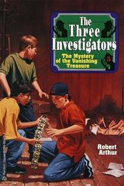 Cover of: Mystery of the Vanishing Treasure