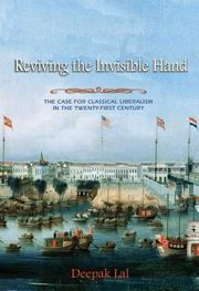 Cover of: Reviving the invisible hand