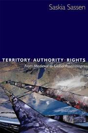 Cover of: Territory, authority, rights
