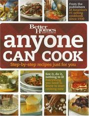 Cover of: Anyone Can Cook