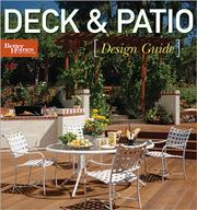 Cover of: Deck & Patio Design Guide | Better Homes and Gardens