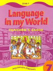 Cover of: Language in My World
