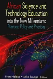 Cover of: African science and technology education into the new millennium