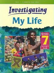 Cover of: Investigating My Life (Investigating)