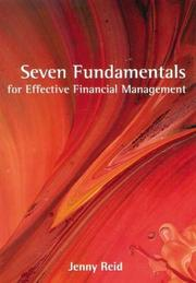 Cover of: Seven Fundamentals for Effective Financial Management