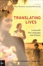 Cover of: Translating lives