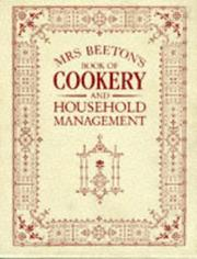 Cover of: Mrs.Beeton's Book of Cookery and Household Management (Mrs Beeton)