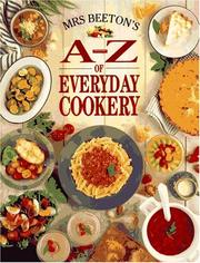 Cover of: Mrs. Beeton's A-Z of Everyday Cookery