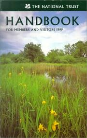 Cover of: The National Trust Handbook 1999