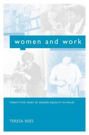 Cover of: Women and Work