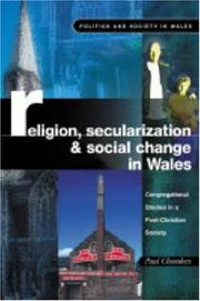 Cover of: Religion, Secularization and Social Change