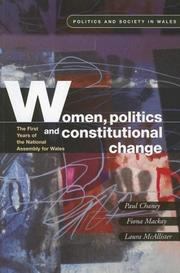Cover of: Women, Politics and Constitutional Change |