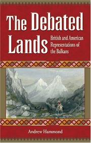 Cover of: The Debated Lands