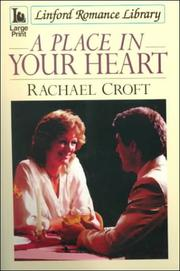 Cover of: A Place in Your Heart | Rachael Croft