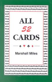 Cover of: All Fifty Two Cards | Marshall Miles