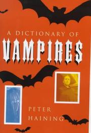 Cover of: A Dictionary of Vampires
