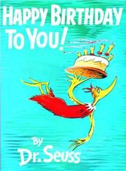 Cover of: Happy birthday to you!