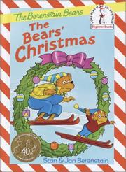 Cover of: The Bears' Christmas (The Berenstain Bears Beginner Books)