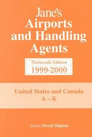 Cover of: Janes Airports and Handling Agents: 1999-2000  | David Shipton