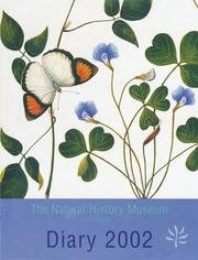Cover of: The Natural History Museum Diary 2002 by Margaret Bushby Cockburn
