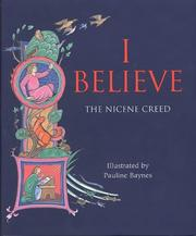 Cover of: I Believe in God