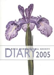 Cover of: The Royal Horticultural Society Diary 2005 (Rhs Diary)